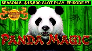 Dragon Link Panda Magic Slot Machine Live Play | Season-5 | EPISODE #7