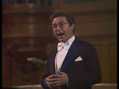 Peter Schreier sings Mozart lieder - video 1979
