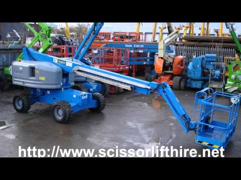 4x4 Scissor Lift Hire Cost West London