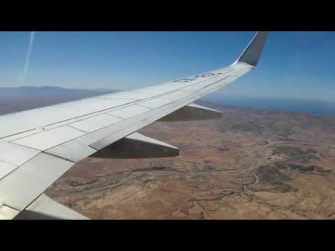 Boeing 737-800 RAM AT685 landing at Nador Aroui Airport