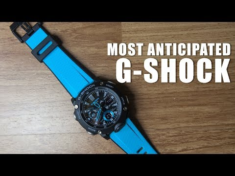 THE MOST ANTICIPATED G-SHOCK | CASIO GA-2000-1A2 SPEC & UNBOXING