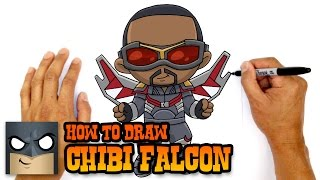 How to Draw Falcon | The Avengers