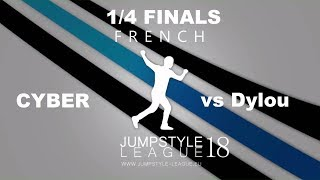 French league '18 | cyber vs dylou | 1/4 finals