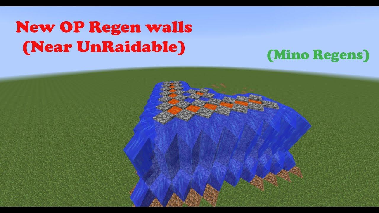 how to build regen walls