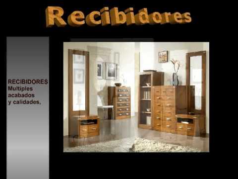 Recibidores muebles recibidor consolas espejos youtube - Decoracion de recibidores y entradas ...