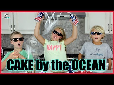 CAKE  THE OCEAN PARODY! DNCE  Family Kids Music