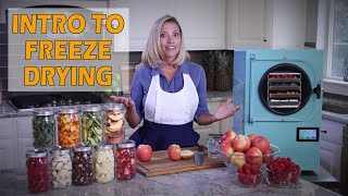 Introduction to Freeze Drying and the Harvest Right Freeze Dryer