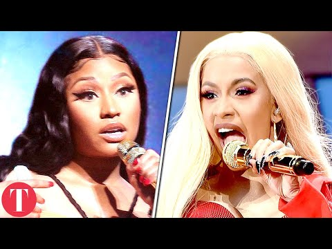 The Truth Behind Nicki Minaj And Cardi B Feud Mp3