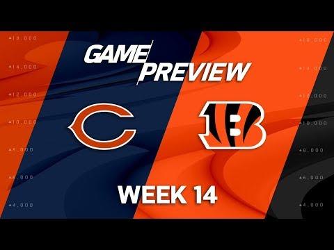 Chicago Bears vs. Cincinnati Bengals | NFL Week 14 Game Preview | NFL Playbook