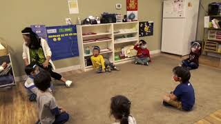Chinese Circle Time Songs & Gross Motor Skill Practice