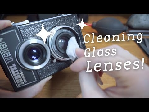 Cleaning Glass Lenses