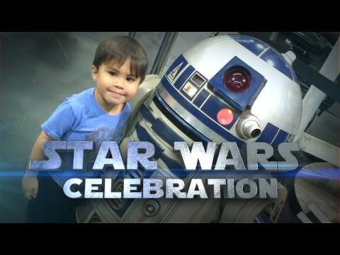 AMK visits the Star Wars Celebration