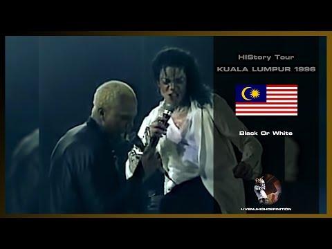 Michael Jackson  Black Or White   Kuala Lumpur 1996  HD