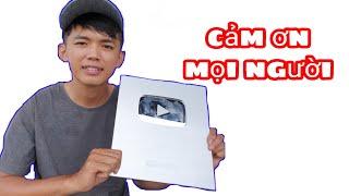 Ăn Mừng Nút Play Bạc Youtube Của Sang Vlog