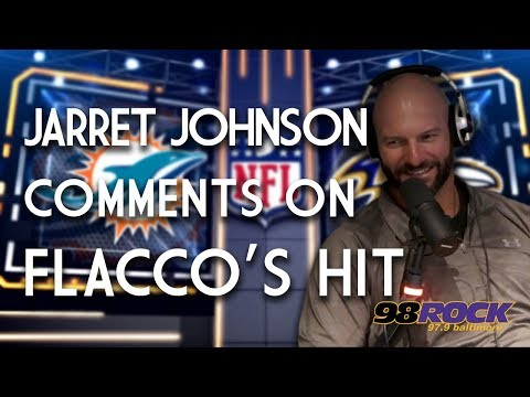 Former Raven Jarret Johnson Comments on Controversial Hit to Joe Flacco