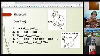 1a Aula EKE – Elementa Kurso de Esperanto por Adonis Saliba- Programa Mia Amiko