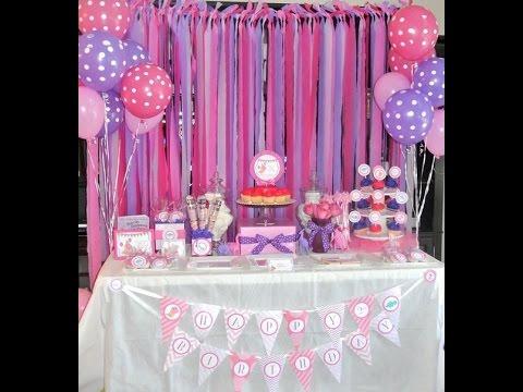 Fiesta de la doctora juguetes mesa de dulces ideas party - Como hacer adornos para fiestas ...