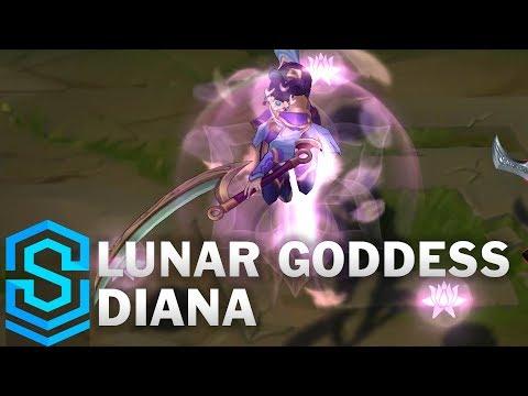 Lunar Goddess Diana (2019) Skin Spotlight - League of Legends