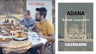 Adana'da Röportaj Adam ve Dünyayı Yiyen Adam ile Ütü Tost ve Kebap