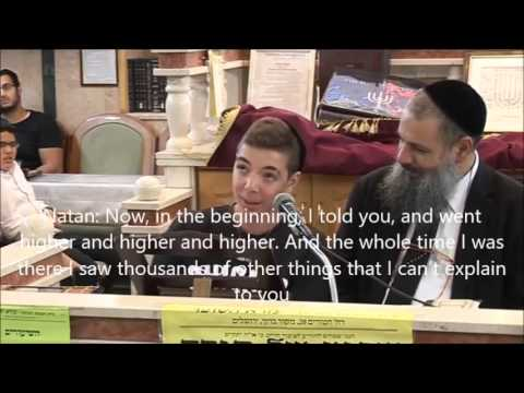 Rabbi Rami Levy & 15 year Old Natan English Subtitles - Testimony About The End of Days Coming Soon