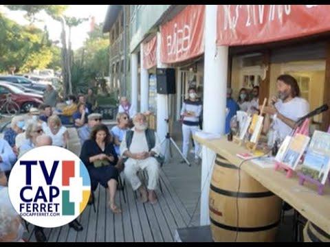 Annonce de l'ouverture de la Rentrée littéraire alice cap ferret avec Frédéric beigbeder #00