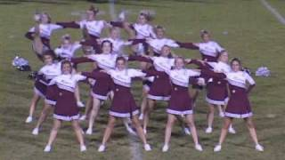 PNHS Poms - Maneater Damage Boyfriend Girlfriend remix dance routine 2008 Plainfield Illinois Il