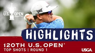 2020 U.S. Open, Round 1: Top Shots