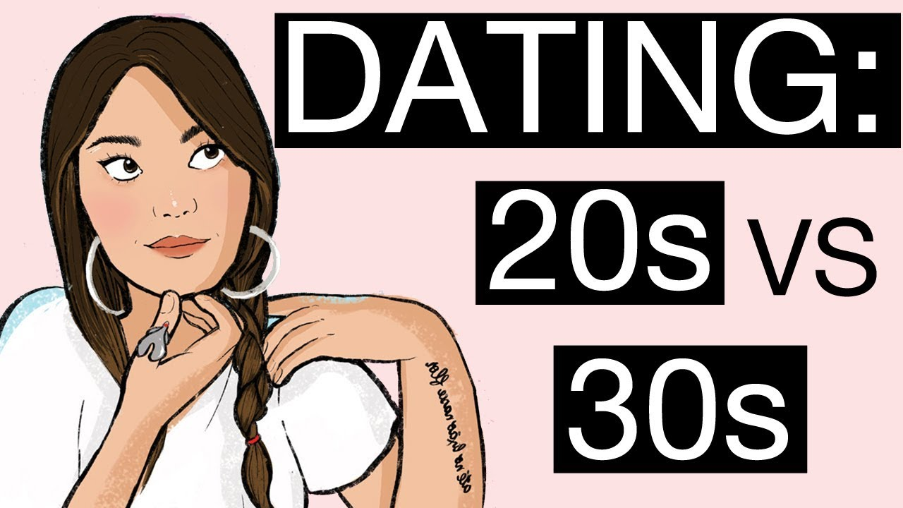 Dating in 20s vs 30s