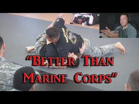 Navy Sailor Reacts To ARMY Combative Training - Better Than Marine Corps?