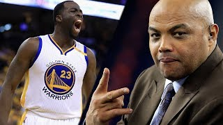 Charles Barkley ADMITS He STILL Wants To PUNCH Draymond Green In The Face!