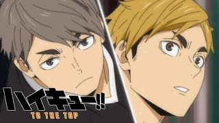Miya twins being Miya twins || best moments || Haikyuu!! To the top