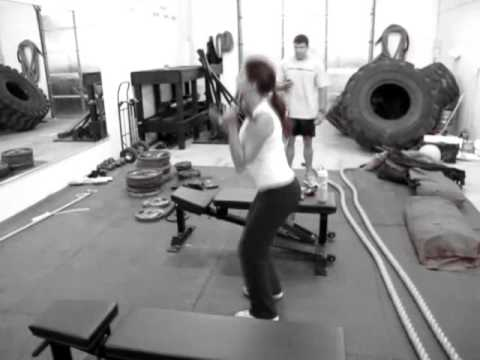 Tampa Personal Trainer - One Arm Squat to Press