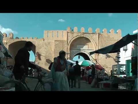 Kairouan Medina - Famous Arabic Town in the Islamic world of Tunisia