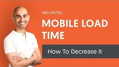 How to Improve Your Mobile Website Load Time