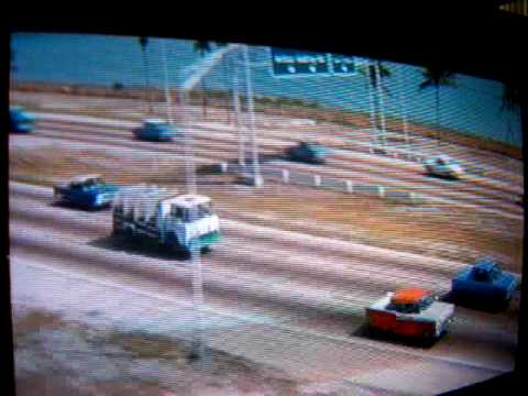1966 Plymouth Fury in a Mild 1960's Car Chase