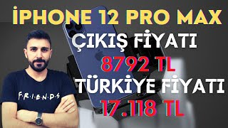 İphone 12 Fiyat Listesi - Türkiye Fiyatı vs. Çıkış Fiyatı (Pro Max Mini)