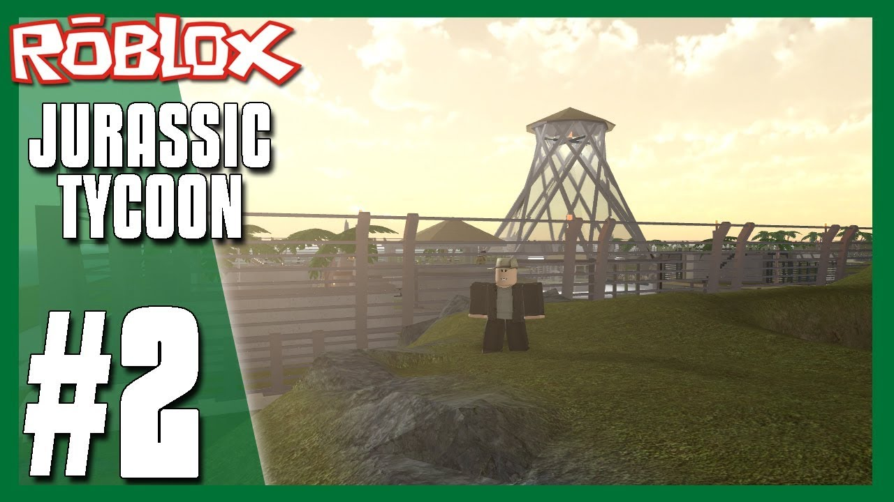 I Have Caught My First Dinosaur Roblox Jurassic Tycoon 2 Youtube