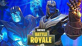 Fortnite: Battle Royale - THANOS DESTROYS TILTED TOWERS!