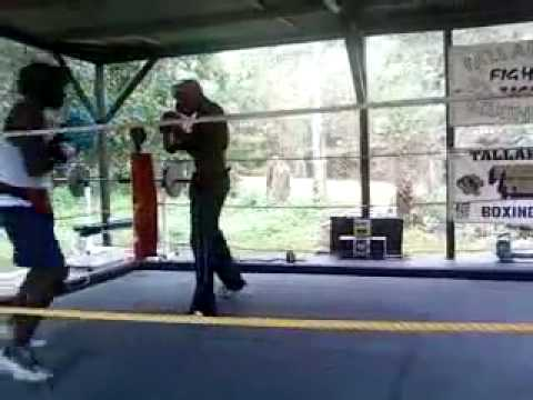 Mario Crapps Boxing in Quincy Florida