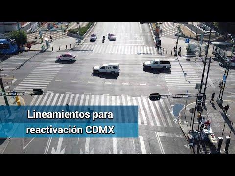 Covid-19 CDMX. Dan lineamientos para reactivación #EnPortada