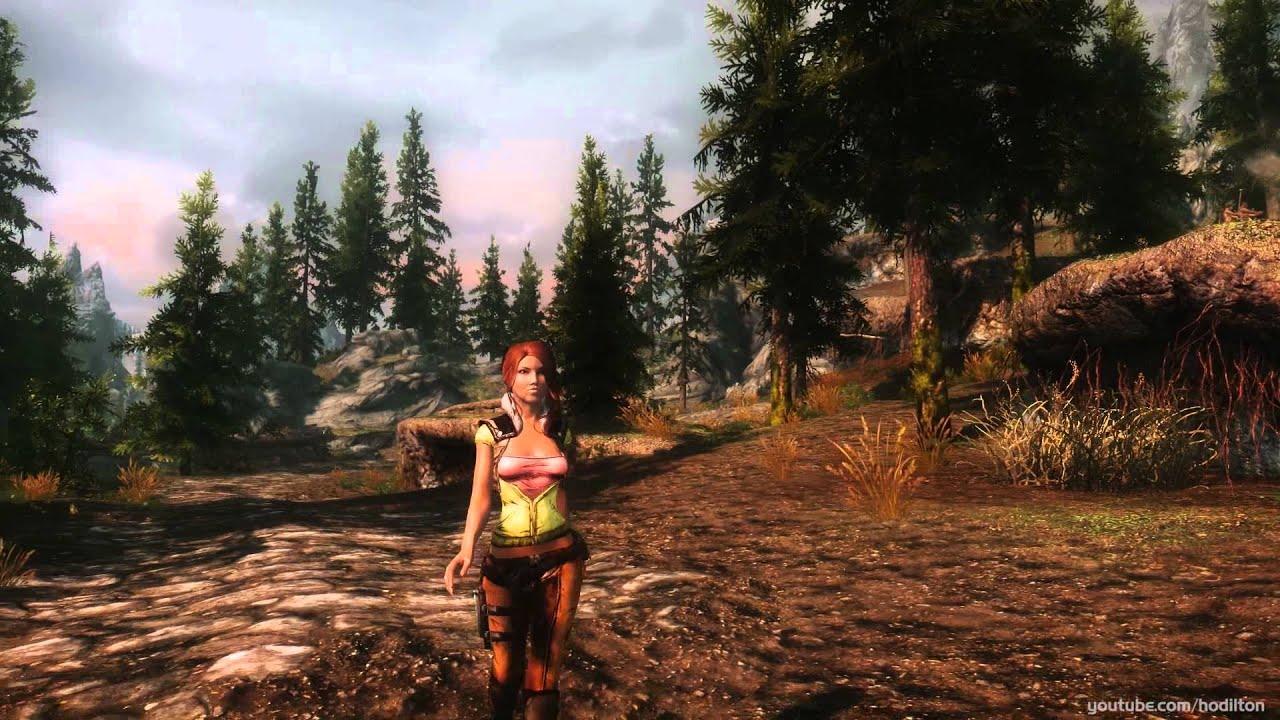 Borderlands Nude Mod Simple tes v - skyrim: borderlands lilith outfit, nightingale crossbow