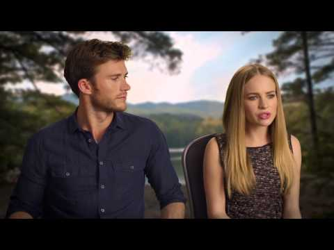 Britt Robertson & Scott Eastwood Interview - The Longest Ride