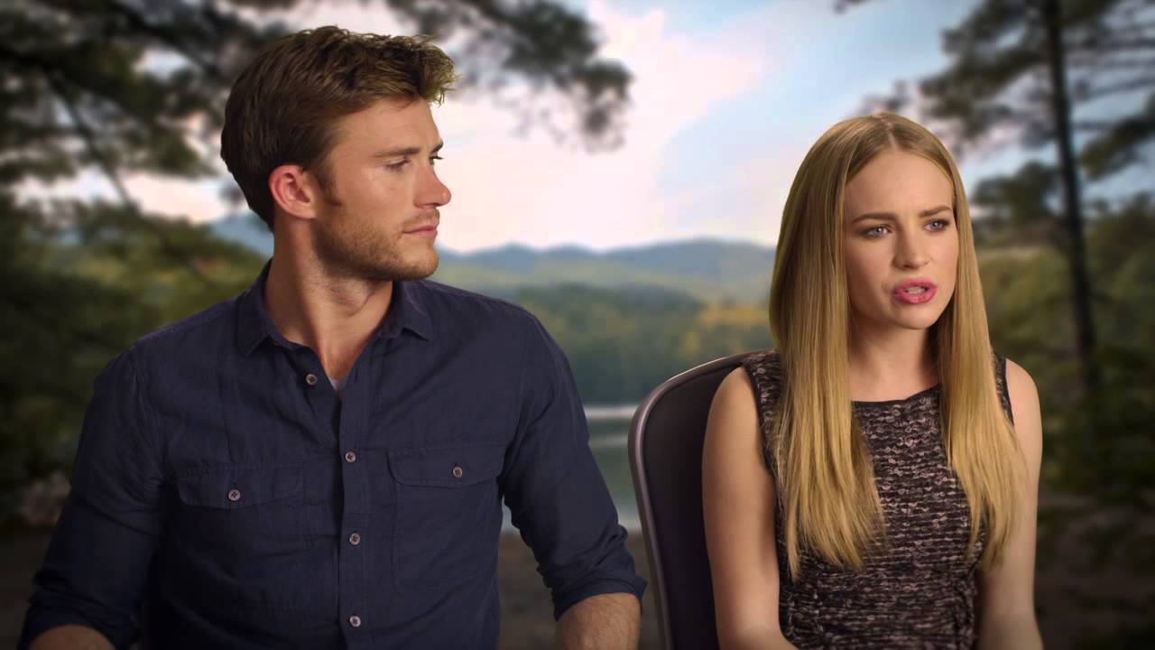Scott eastwood and britt robertson talking about if they are dating