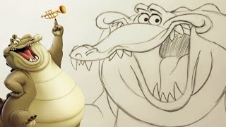How to Draw Louis from the Princess and the Frog | Disney Insider