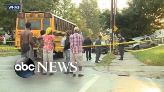 3 Kids Hit by SUV While Waiting for School Bus