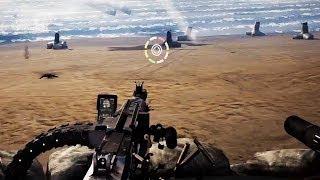 HEAVY FIRE: RED SHADOW VR -  Pre Launch Trailer【PSVR】 Mastiff