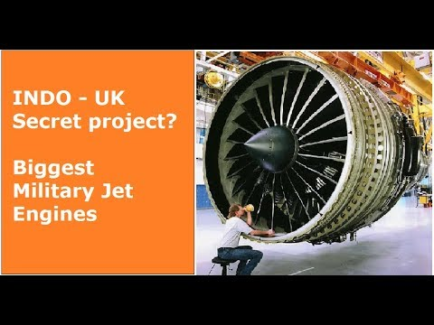 Is India and UK (DRDO & Rolls Royce) making Biggest jet Engines?
