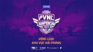 🔴TRỰC TIẾP PVNC 2019 | VÒNG LOẠI PUBG MOBILE VIETNAM NATIONAL CHAMPIONSHIP 2019 | KHU VỰC HẢI PHÒNG