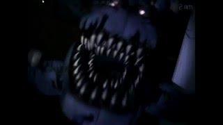 как играет девушка в 5 ночей с Фредди 4/Фнаф 4/реакция девушки на Five Nights At Freddy's
