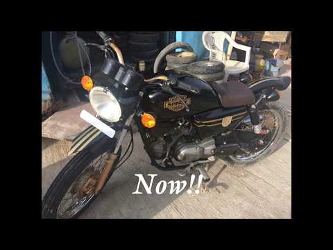 Hero honda modification 2017 @ Bangalore